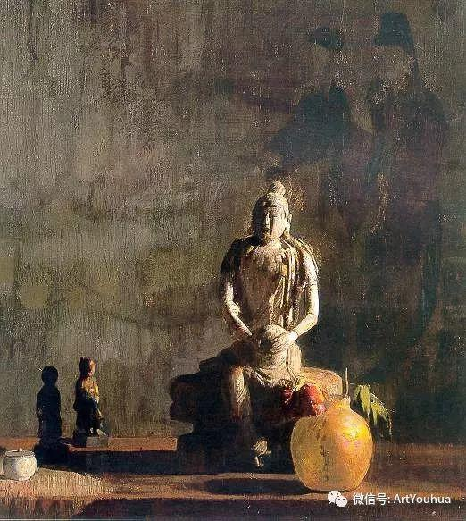 静物画里的中国元素 美国Hovsep Pushman作品插图43