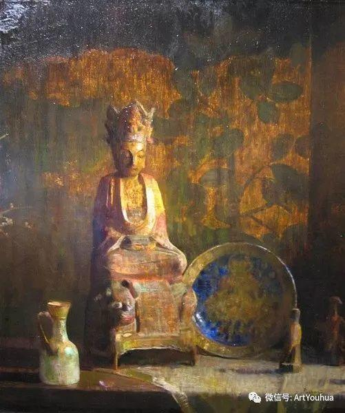 静物画里的中国元素 美国Hovsep Pushman作品插图47