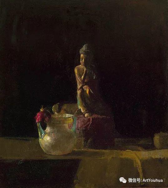 静物画里的中国元素 美国Hovsep Pushman作品插图49