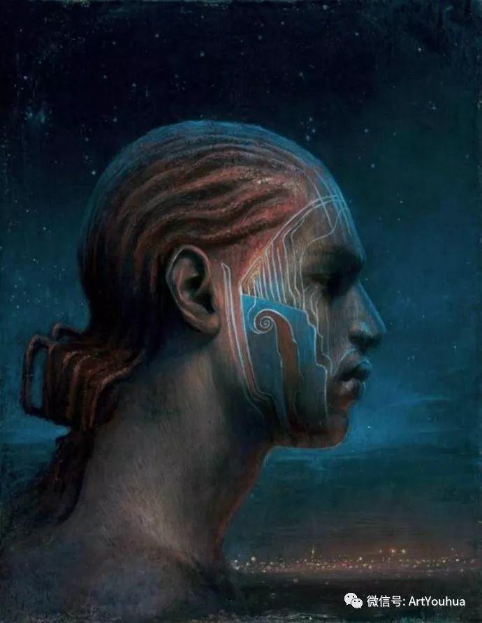 现实与梦想的面貌 Agostino Arrivabene作品欣赏二插图21