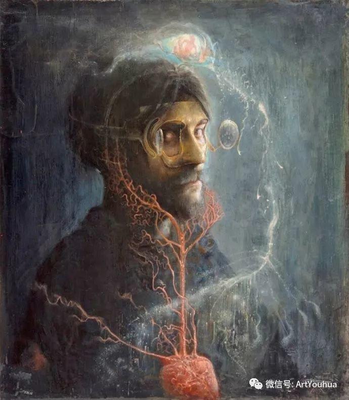 现实与梦想的面貌 Agostino Arrivabene作品欣赏二插图39