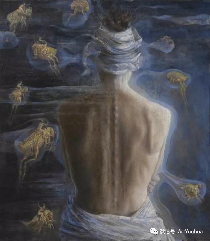 现实与梦想的面貌 Agostino Arrivabene作品欣赏二插图43