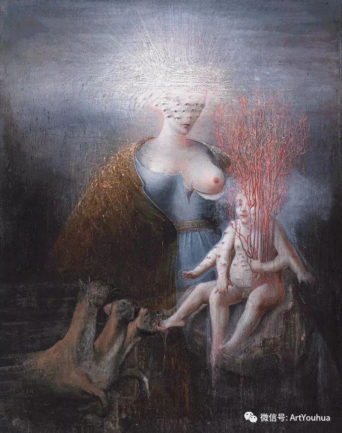 现实与梦想的面貌 Agostino Arrivabene作品欣赏二插图61