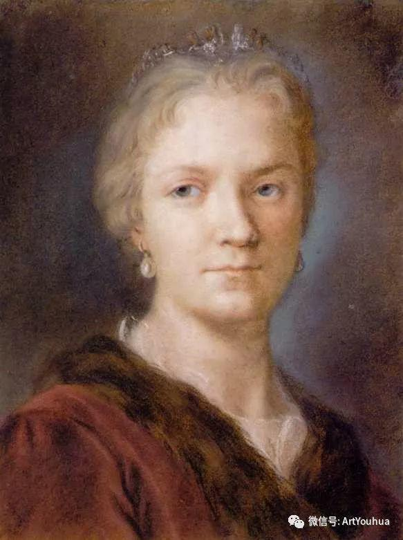 威尼斯画派 意大利女画家Rosalba Carriera插图1