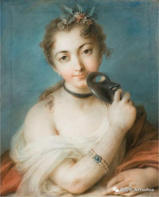 威尼斯画派 意大利女画家Rosalba Carriera插图3