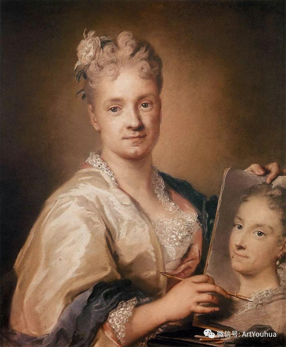威尼斯画派 意大利女画家Rosalba Carriera插图7