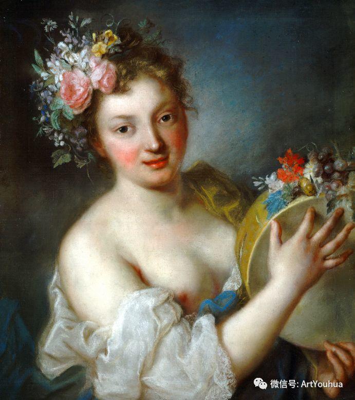 威尼斯画派 意大利女画家Rosalba Carriera插图9
