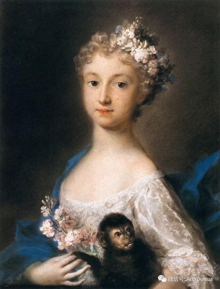威尼斯画派 意大利女画家Rosalba Carriera插图13