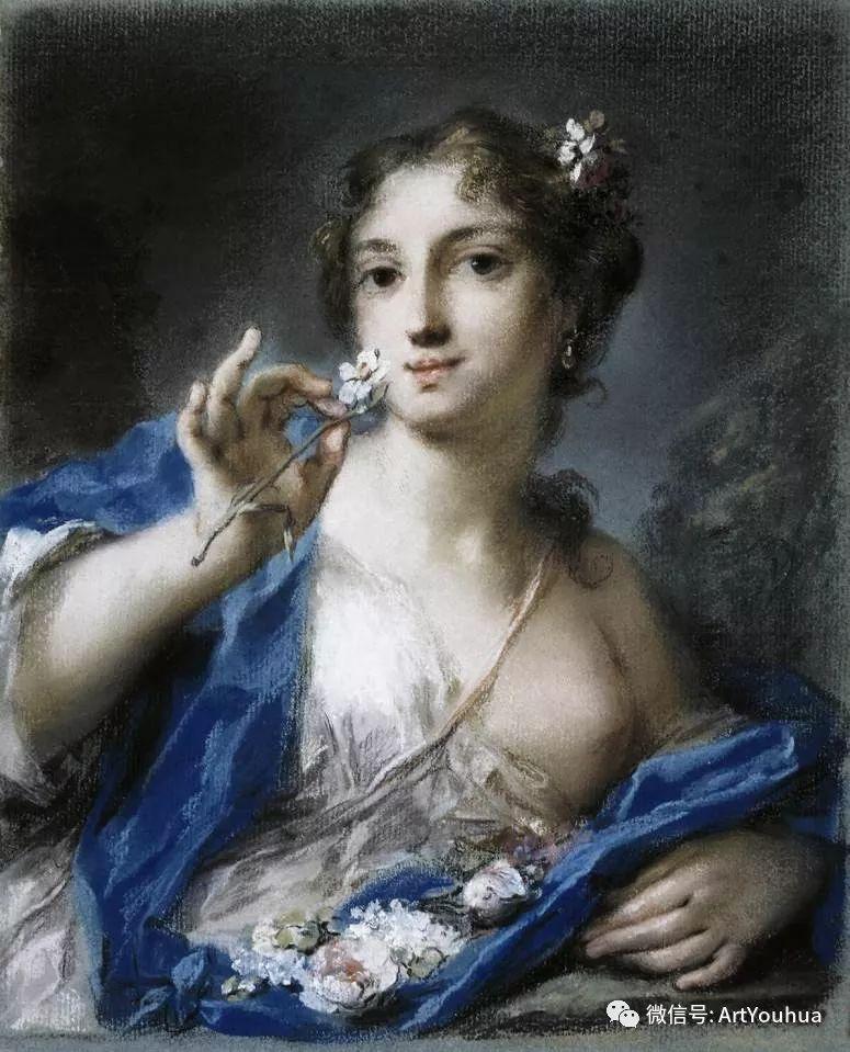 威尼斯画派 意大利女画家Rosalba Carriera插图17