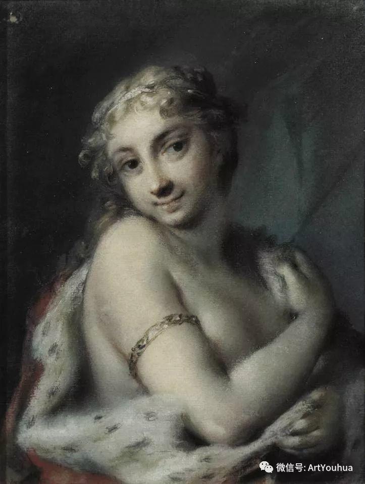 威尼斯画派 意大利女画家Rosalba Carriera插图19