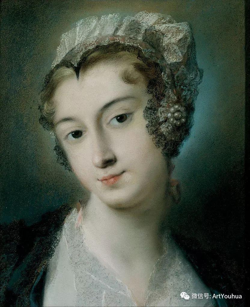 威尼斯画派 意大利女画家Rosalba Carriera插图27