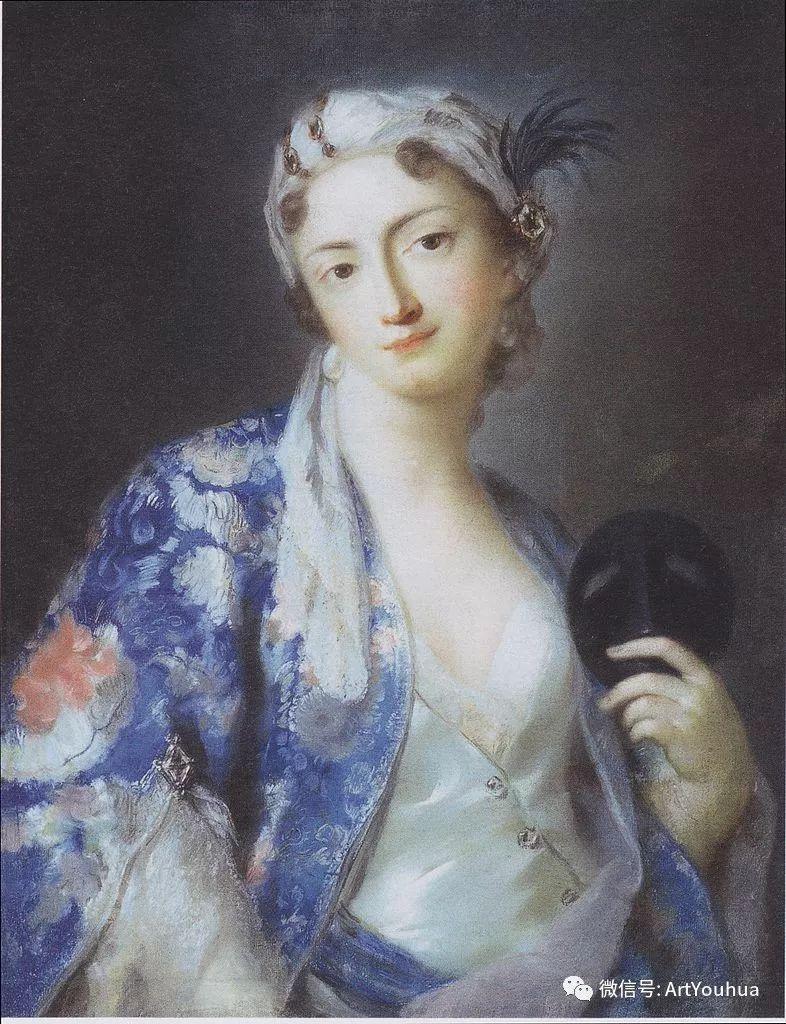 威尼斯画派 意大利女画家Rosalba Carriera插图29