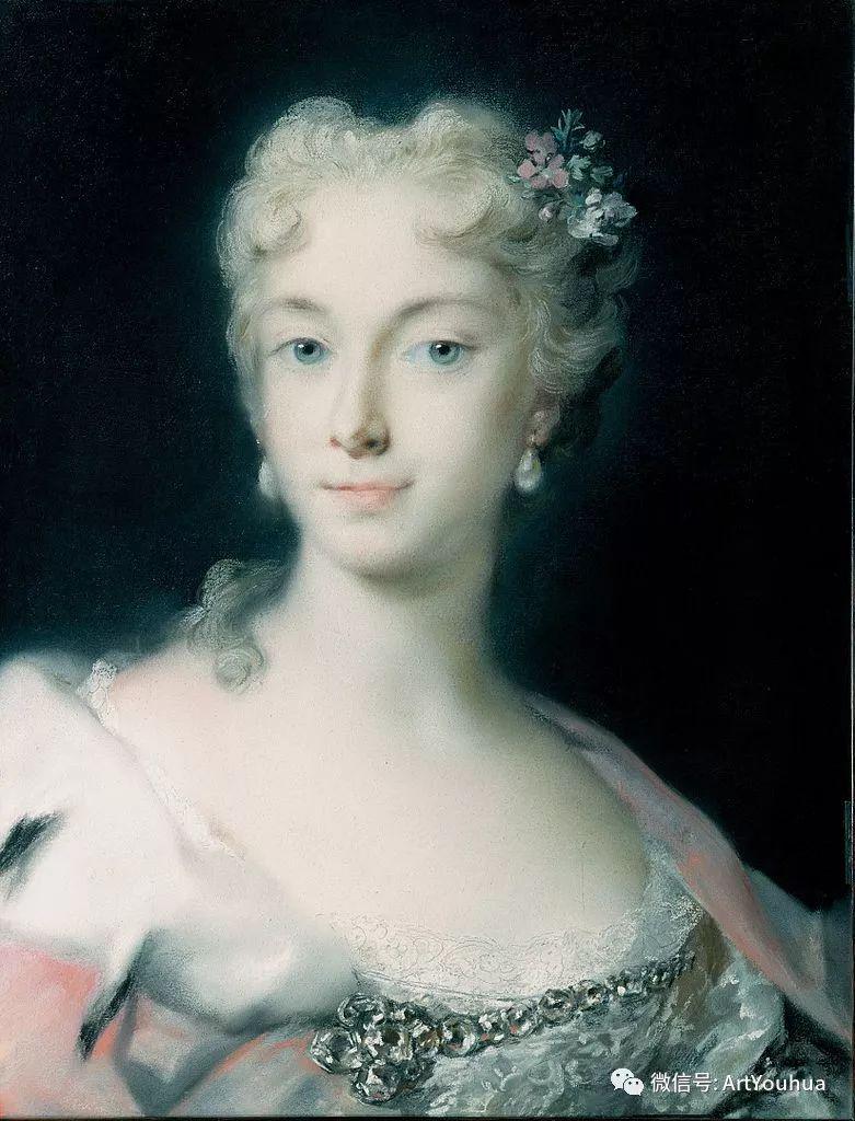 威尼斯画派 意大利女画家Rosalba Carriera插图31