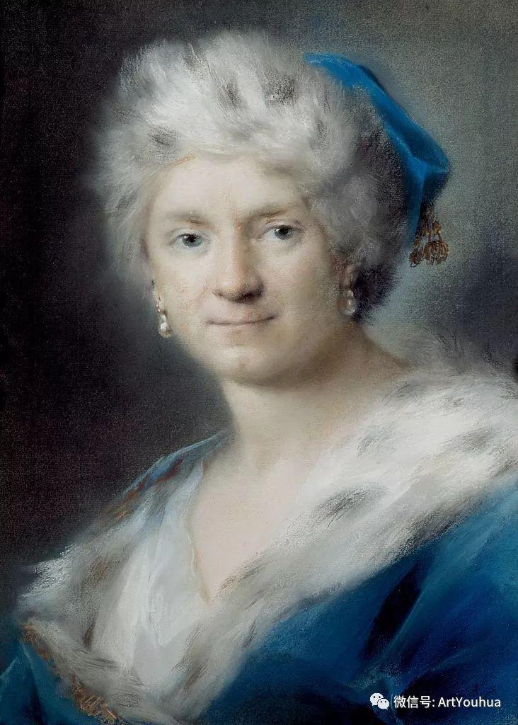 威尼斯画派 意大利女画家Rosalba Carriera插图37