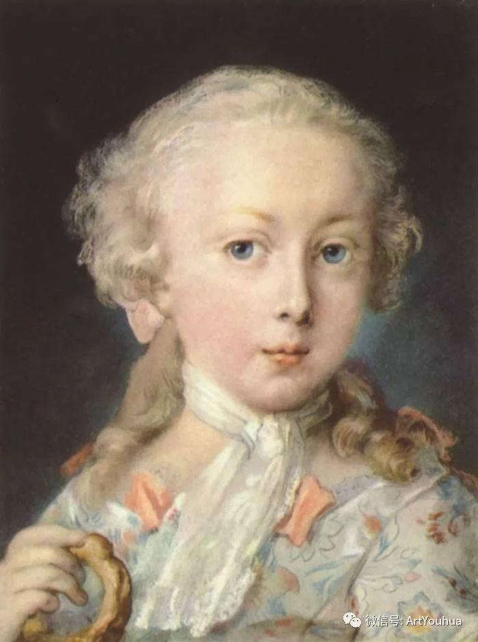 威尼斯画派 意大利女画家Rosalba Carriera插图47