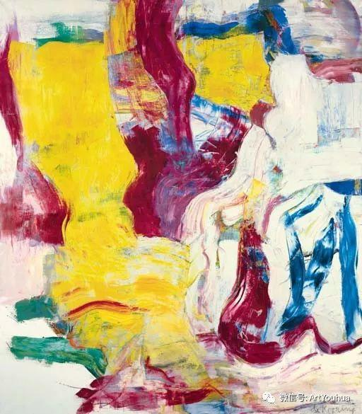 抽象表现主义  荷兰Willem de Kooning作品插图3