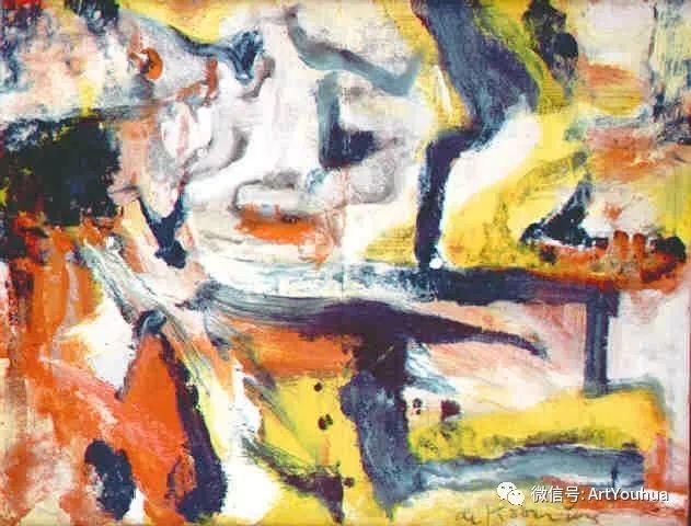 抽象表现主义  荷兰Willem de Kooning作品插图10