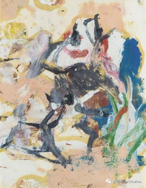 抽象表现主义  荷兰Willem de Kooning作品插图13