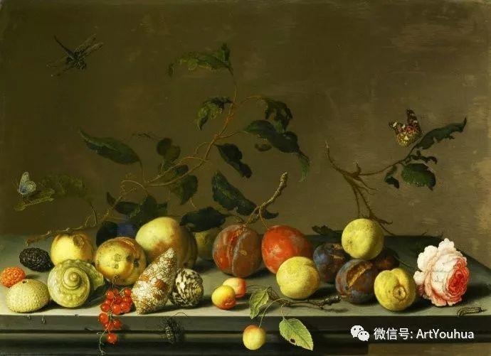 静物花卉油画欣赏 荷兰画家Balthasar van der Ast插图3
