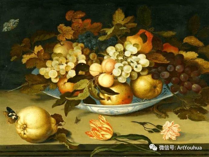 静物花卉油画欣赏 荷兰画家Balthasar van der Ast插图5