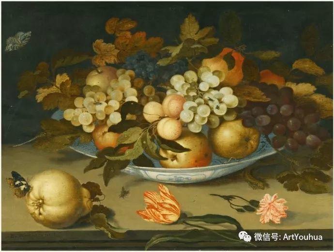 静物花卉油画欣赏 荷兰画家Balthasar van der Ast插图11