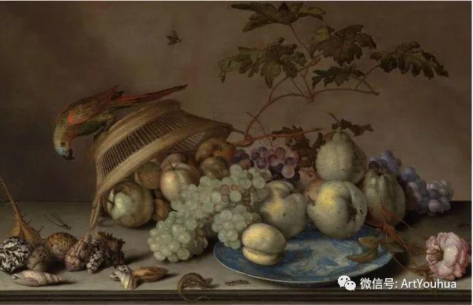 静物花卉油画欣赏 荷兰画家Balthasar van der Ast插图15