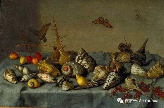 静物花卉油画欣赏 荷兰画家Balthasar van der Ast插图27
