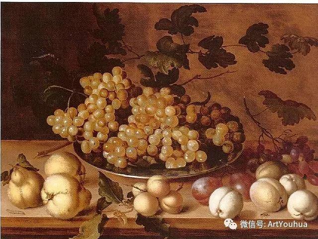 静物花卉油画欣赏 荷兰画家Balthasar van der Ast插图35