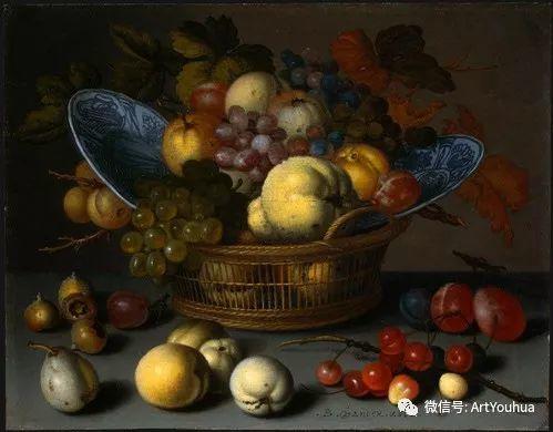 静物花卉油画欣赏 荷兰画家Balthasar van der Ast插图41