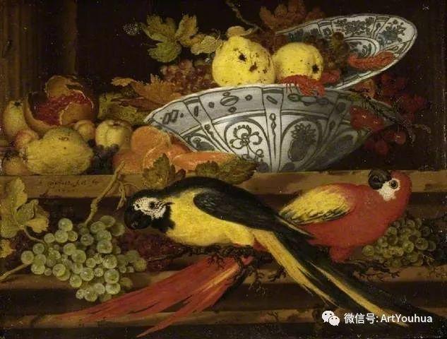 静物花卉油画欣赏 荷兰画家Balthasar van der Ast插图43
