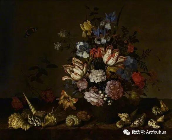 静物花卉油画欣赏 荷兰画家Balthasar van der Ast插图45