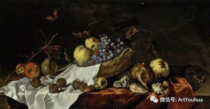 静物花卉油画欣赏 荷兰画家Balthasar van der Ast插图49