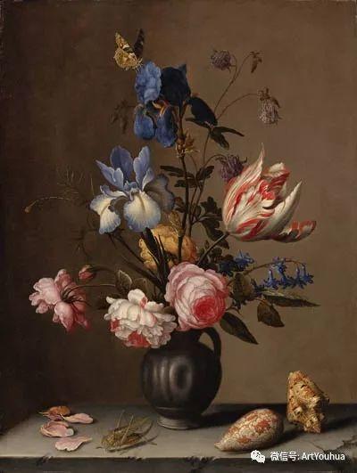 静物花卉油画欣赏 荷兰画家Balthasar van der Ast插图53