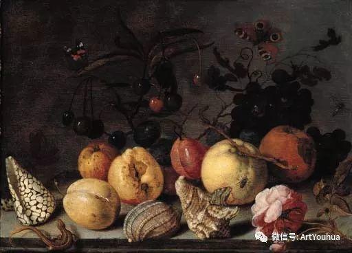 静物花卉油画欣赏 荷兰画家Balthasar van der Ast插图59