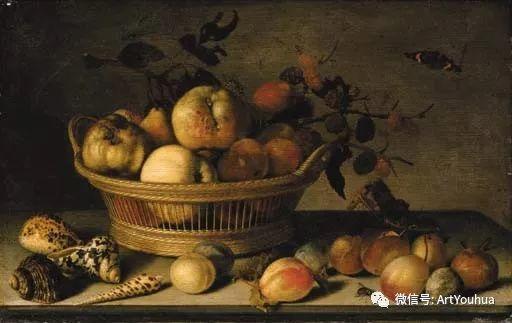 静物花卉油画欣赏 荷兰画家Balthasar van der Ast插图63