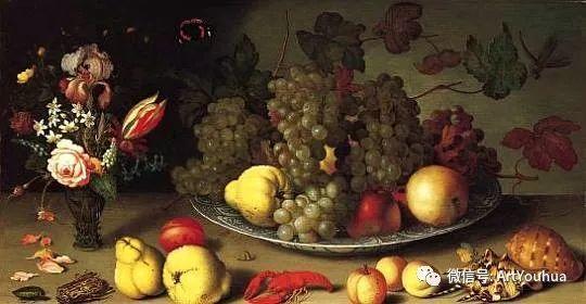 静物花卉油画欣赏 荷兰画家Balthasar van der Ast插图67