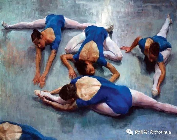 舞者油画欣赏  美国Eric Wallis作品插图5