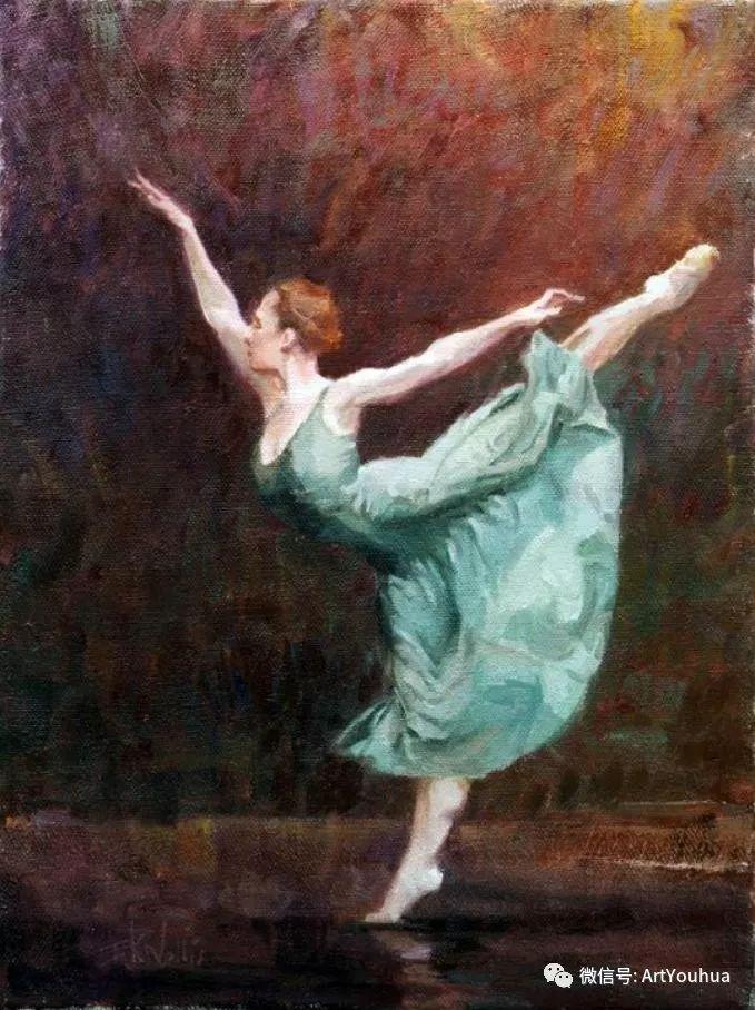 舞者油画欣赏  美国Eric Wallis作品插图9