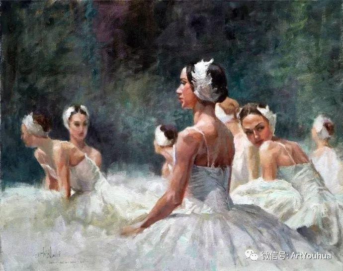 舞者油画欣赏  美国Eric Wallis作品插图11
