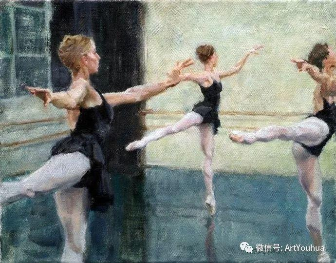 舞者油画欣赏  美国Eric Wallis作品插图13