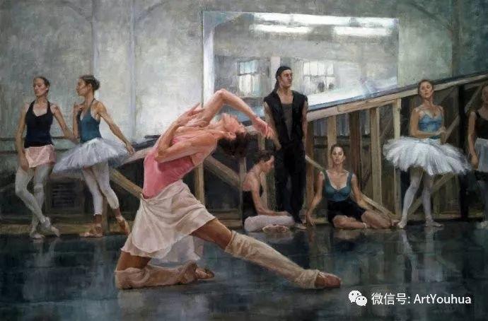 舞者油画欣赏  美国Eric Wallis作品插图15