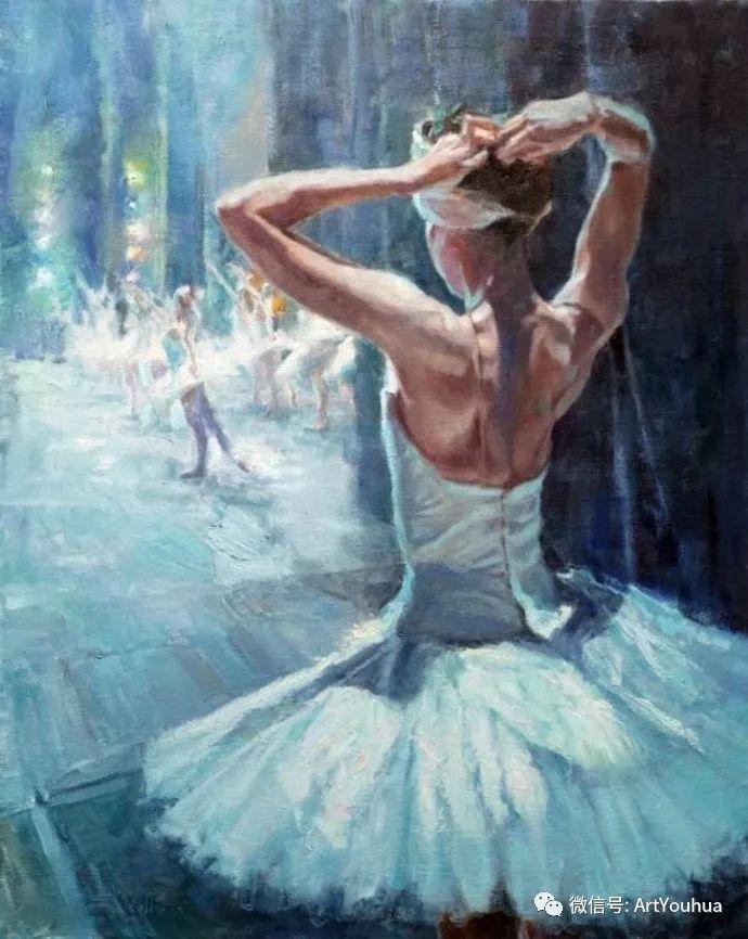 舞者油画欣赏  美国Eric Wallis作品插图17