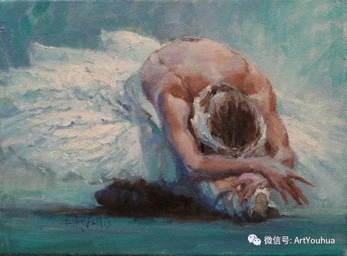 舞者油画欣赏  美国Eric Wallis作品插图19
