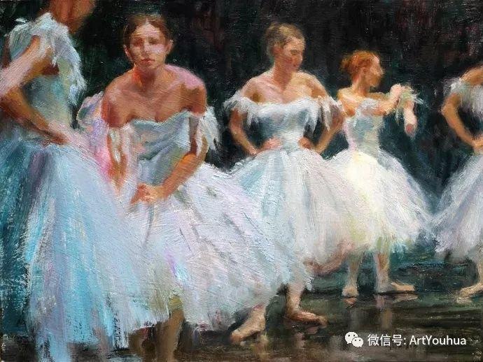 舞者油画欣赏  美国Eric Wallis作品插图27