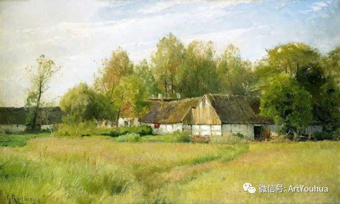 风景画欣赏  瑞典Gustaf Rydberg作品插图11