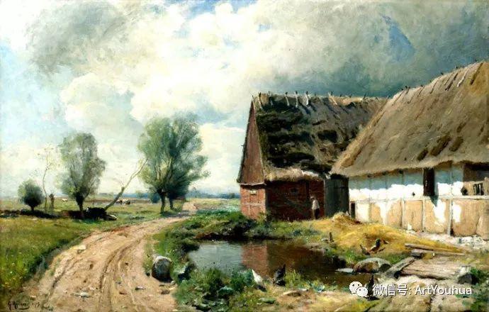风景画欣赏  瑞典Gustaf Rydberg作品插图15