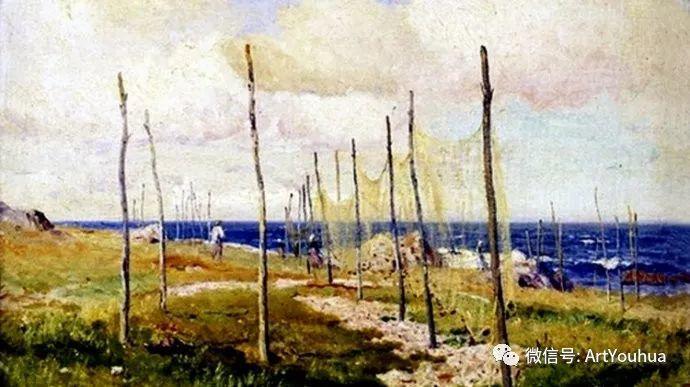 风景画欣赏  瑞典Gustaf Rydberg作品插图19