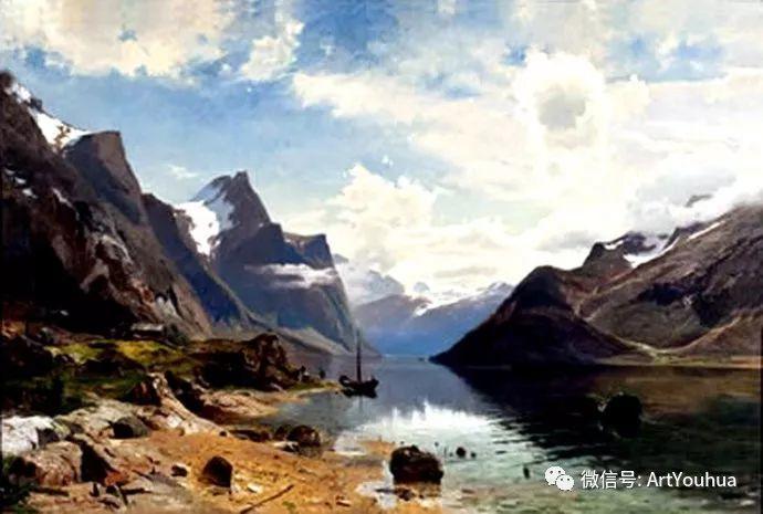 风景画欣赏  瑞典Gustaf Rydberg作品插图37
