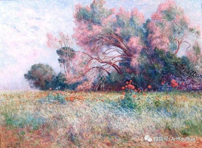 后印象派 法国画家Ferdinand Loyen du Puigaudeau插图1