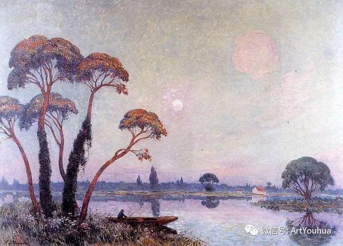 后印象派 法国画家Ferdinand Loyen du Puigaudeau插图5